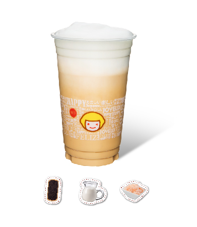 Milk Tea with Salted Crema