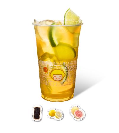 Pomelo & Grapefruit Lemon Green Tea