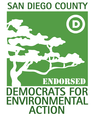 ENDORSED by Democrats for Environmental Action