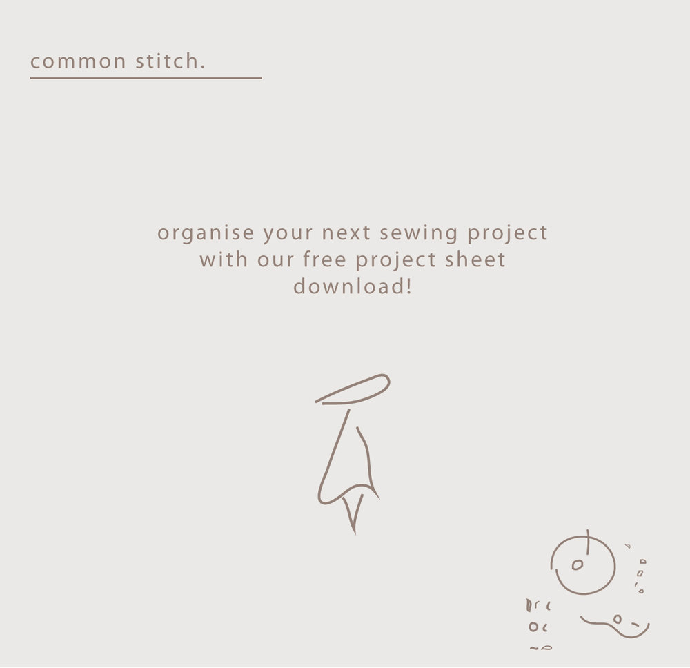 a project sheet. - a simple pdf project sheet to help organise your next project step by step