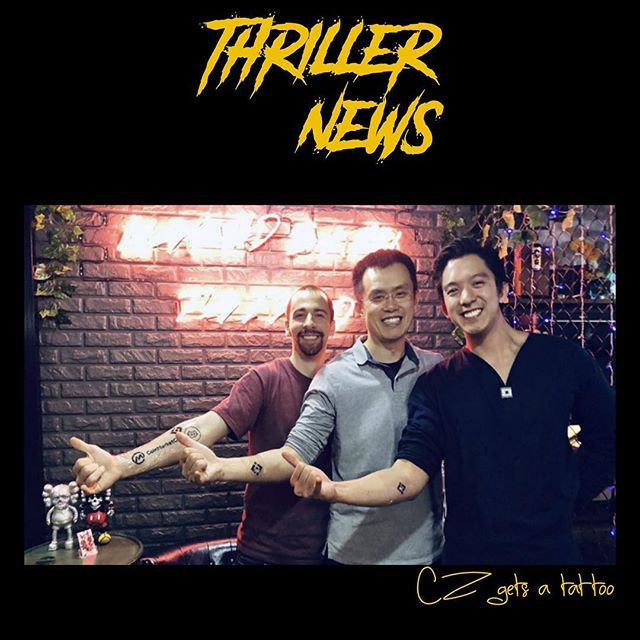 Don't miss our Genesis episode of Thriller News 🔥  follow: @thrillerpodcast to keep up to date on crypto.