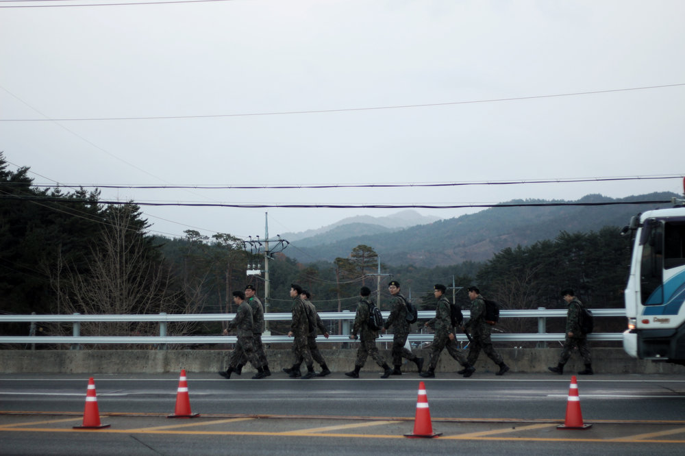 South Korean Soliders