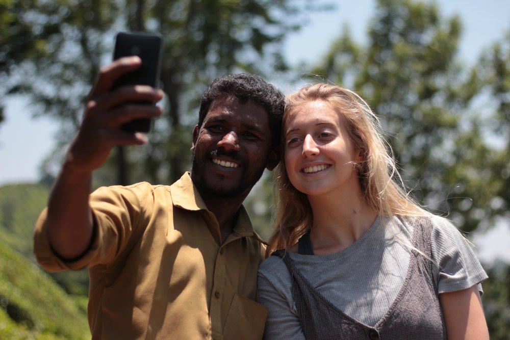Rickshaw Selfie