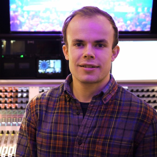 Robin Hawkins   Speech Mixer / Engineer   Robin also began working with Conrad in 2016 as a Tonmeister. An established classical engineer in his own right, he often looks after floor sound for broadcasts and speech mixing for live screenings to cinema. Dozens of album credits and experience in FOH mixing attribute to his keen ear for music and dialogue.
