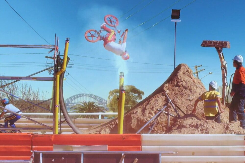 Red Bull 'Bicycle Motocross'