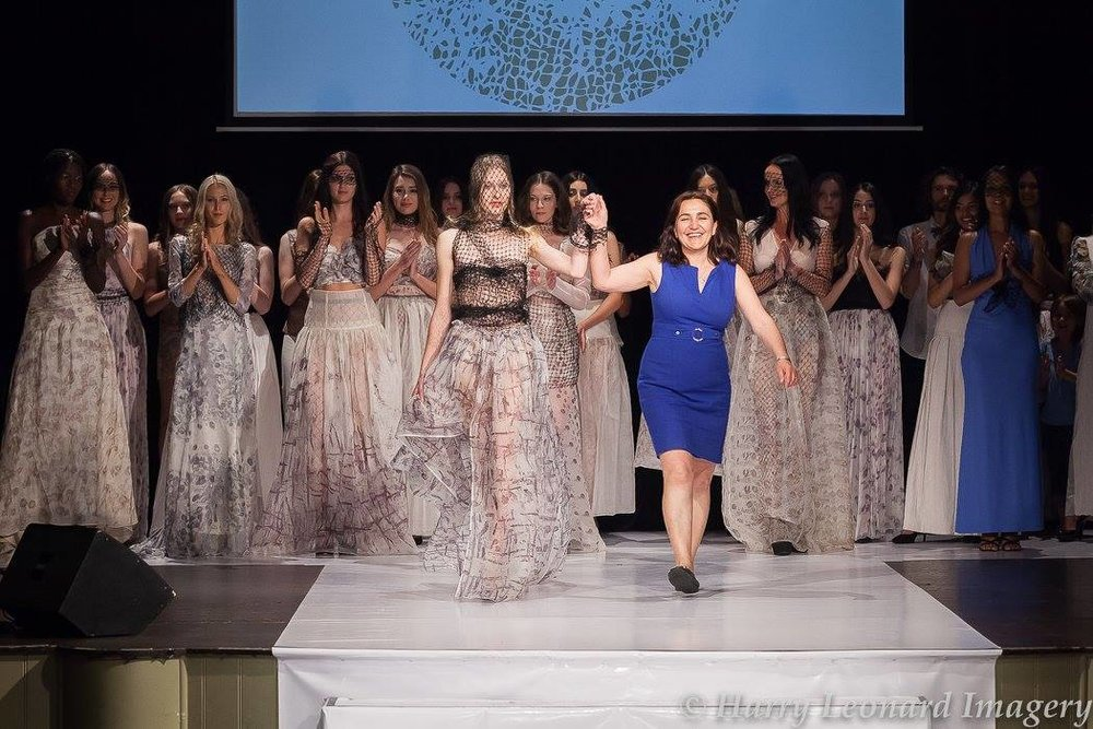 Green Embassy Collection shown at Eco Fashion Week Australia 2017 in Perth