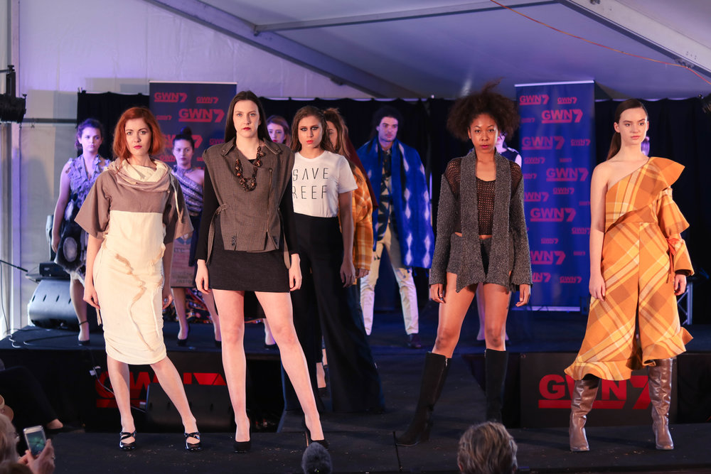 High-end fashions made from Merino wool showcased by EFWA at Dowerin Field Days 2017
