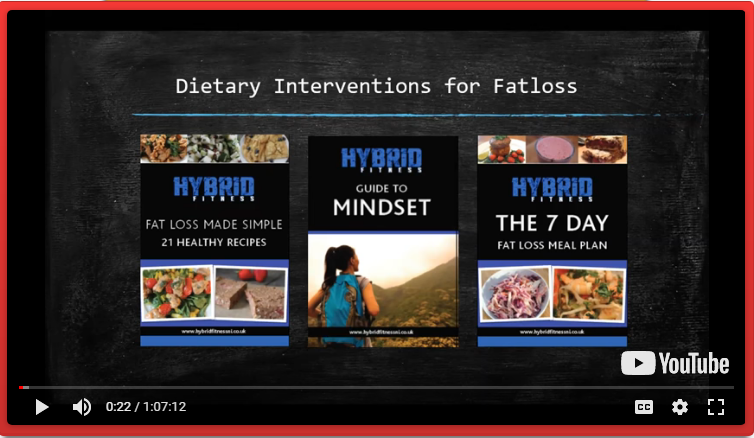 FREE: DIetary Interventions For Fatloss