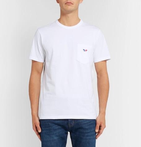 Maison Kitsuné Cotton-Jersey T Shirt £65