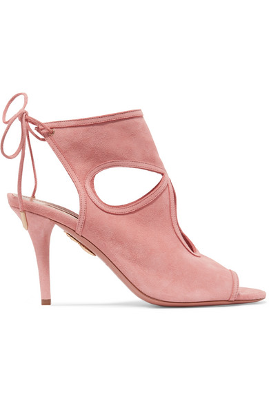 Sexy Thing cut-out suede sandals