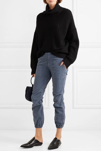 Nili Lotan  twill pants from  Net a Porter