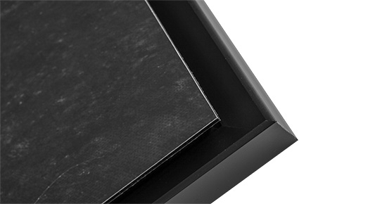 Copy of Copy of Copy of Copy of Brushed aluminum finish Dibond with US BOX finition