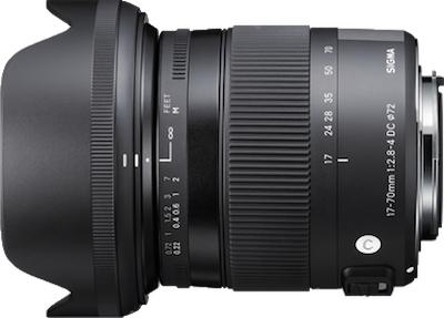 SIGMA 17-70mm F2.8-4 DC MACRO OS HSM