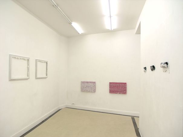 Solo exhibition view