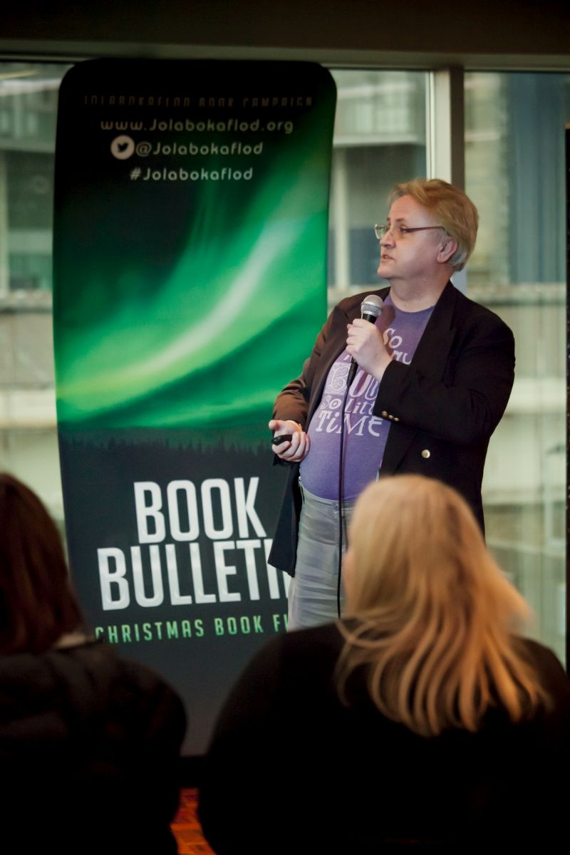 Christopher Norris - How to get traction for your book.