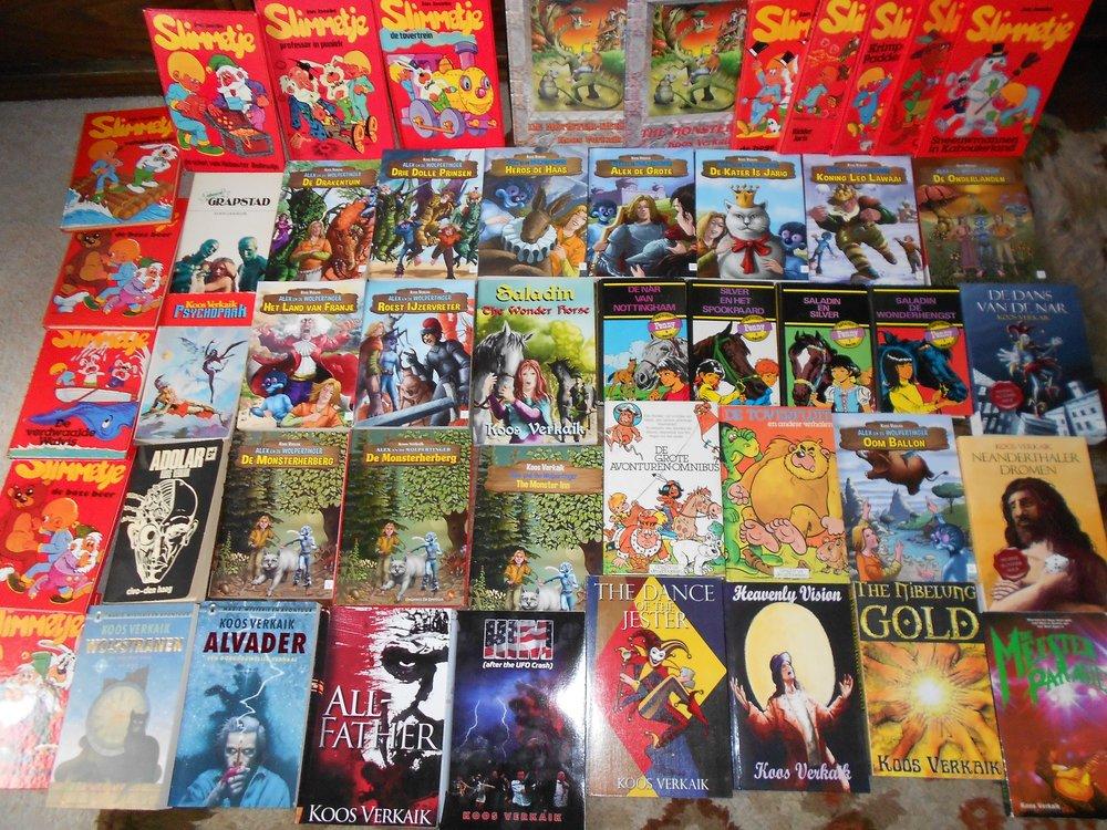 Koos Verkaik Books.JPG