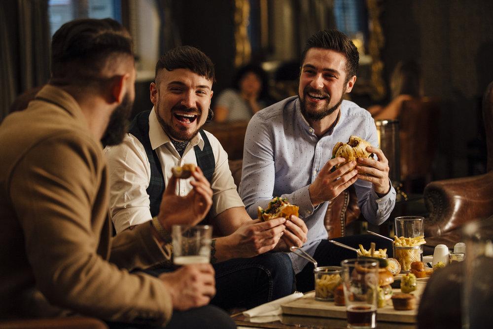 men's evening -