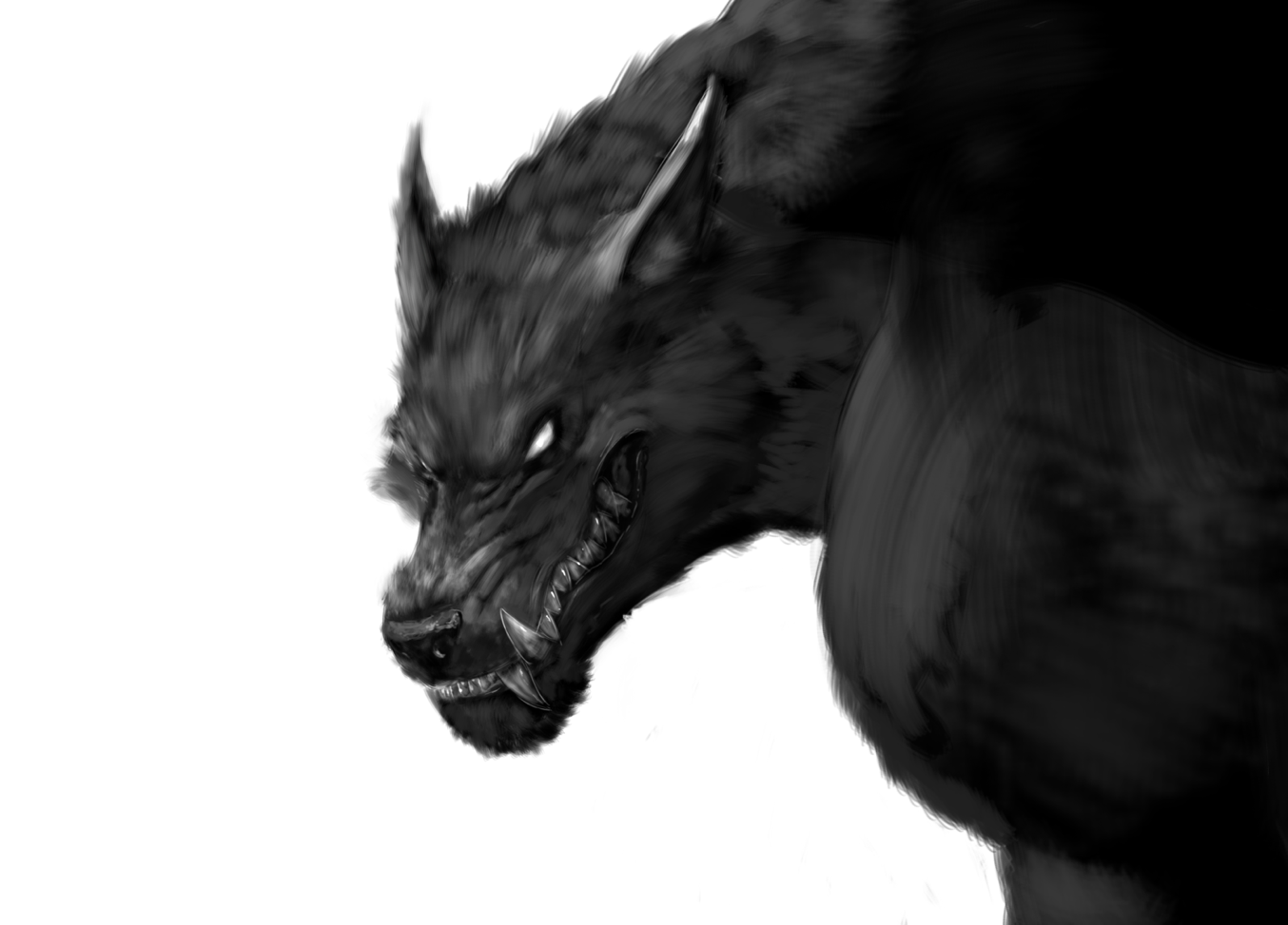 scary_werewolf_head_grinning