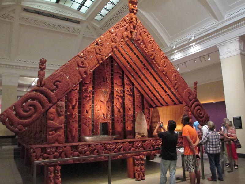 maori exhibit auckland