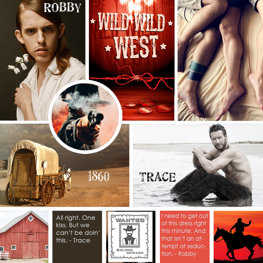 Moodboard for Robby Riverton: Mail Order Bride