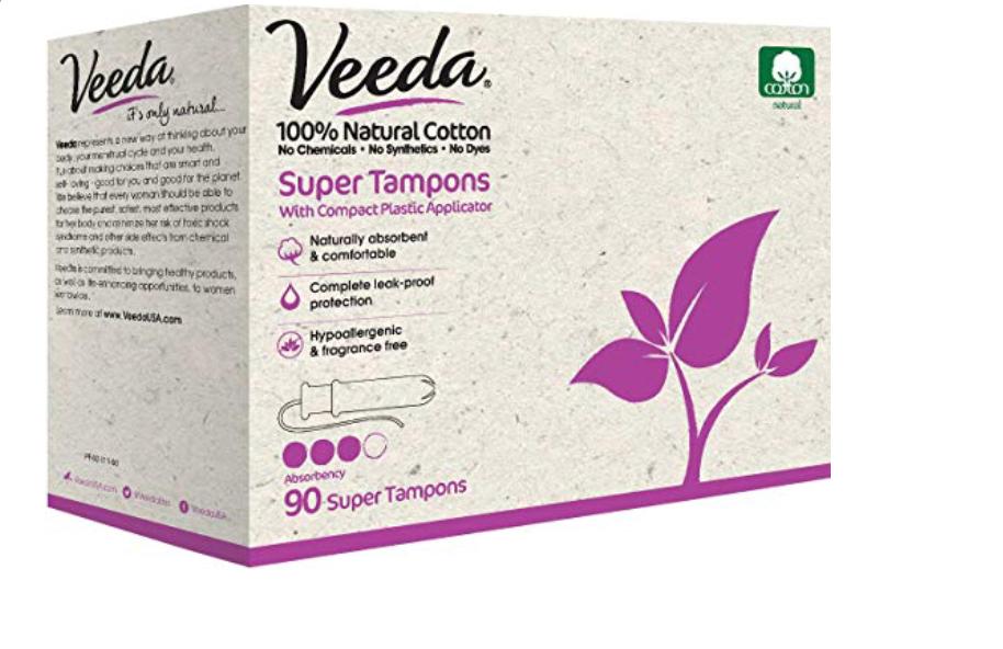 Veeda Natural Tampons