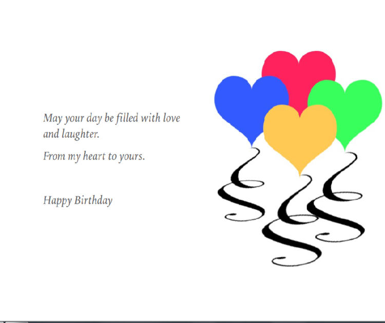from my heart to yours birthday card ebonique apparel greeting cards