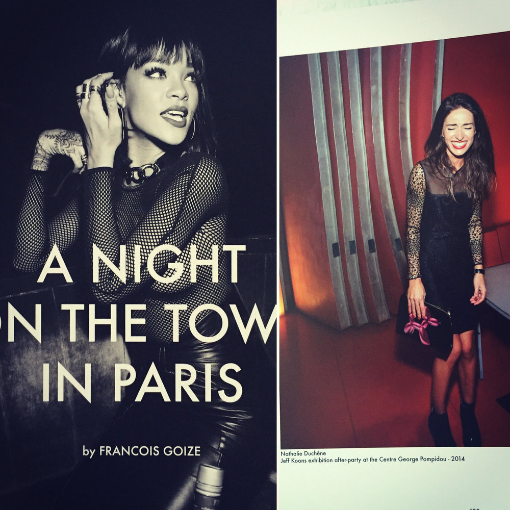 A night in the town in paris by francois goize -
