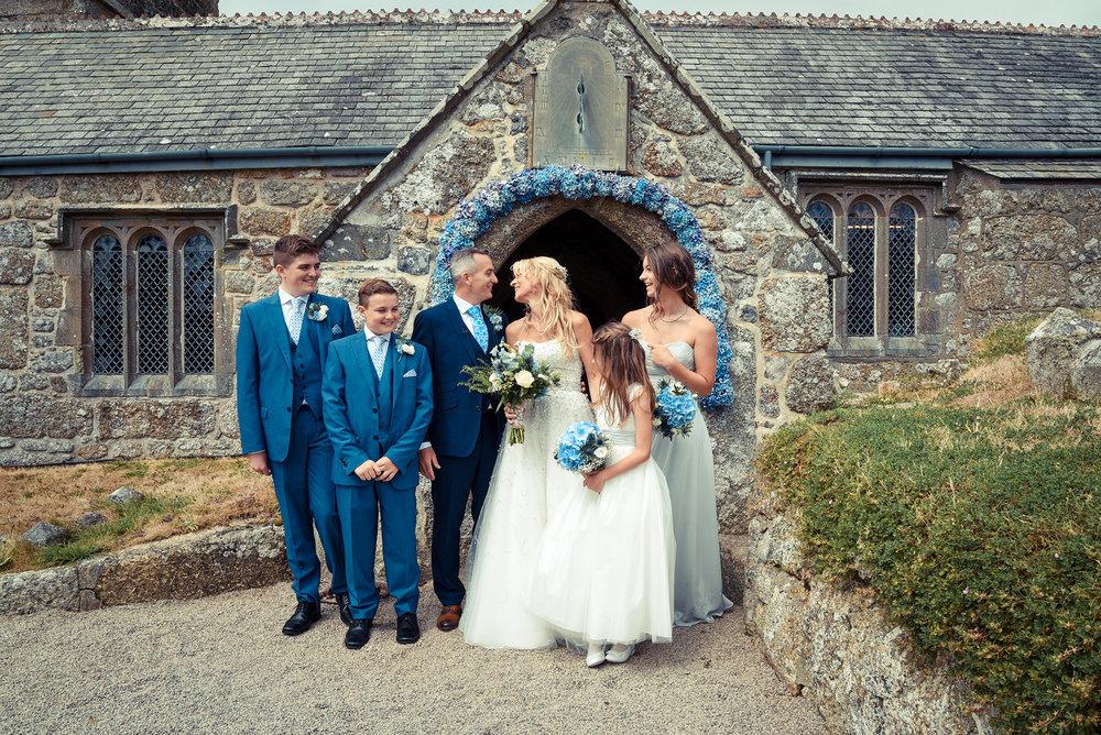 Wedding family church