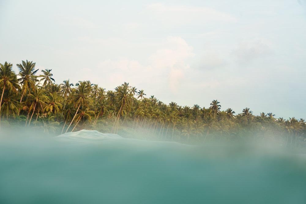 Sri Lanka seascape abstract tropical