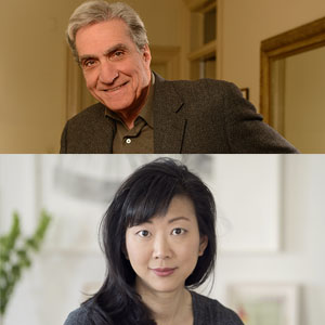 Robert Pinsky and Monica Youn, June 2018