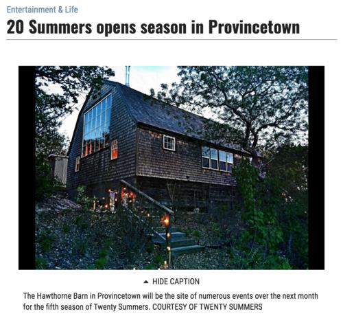 Cape Cod Times Press — Twenty Summers