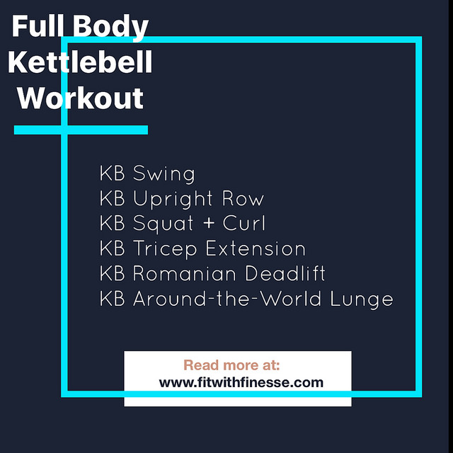 Give this circuit, aimed at increasing strength, a try this week.  - Go for 3 rounds and 12-15 reps of each (push yourself by going for 20-25 of those kettlebell swings). Scroll down for demos of some of the moves. You will want to push yourself by going with a heavier kettlebell for this set.