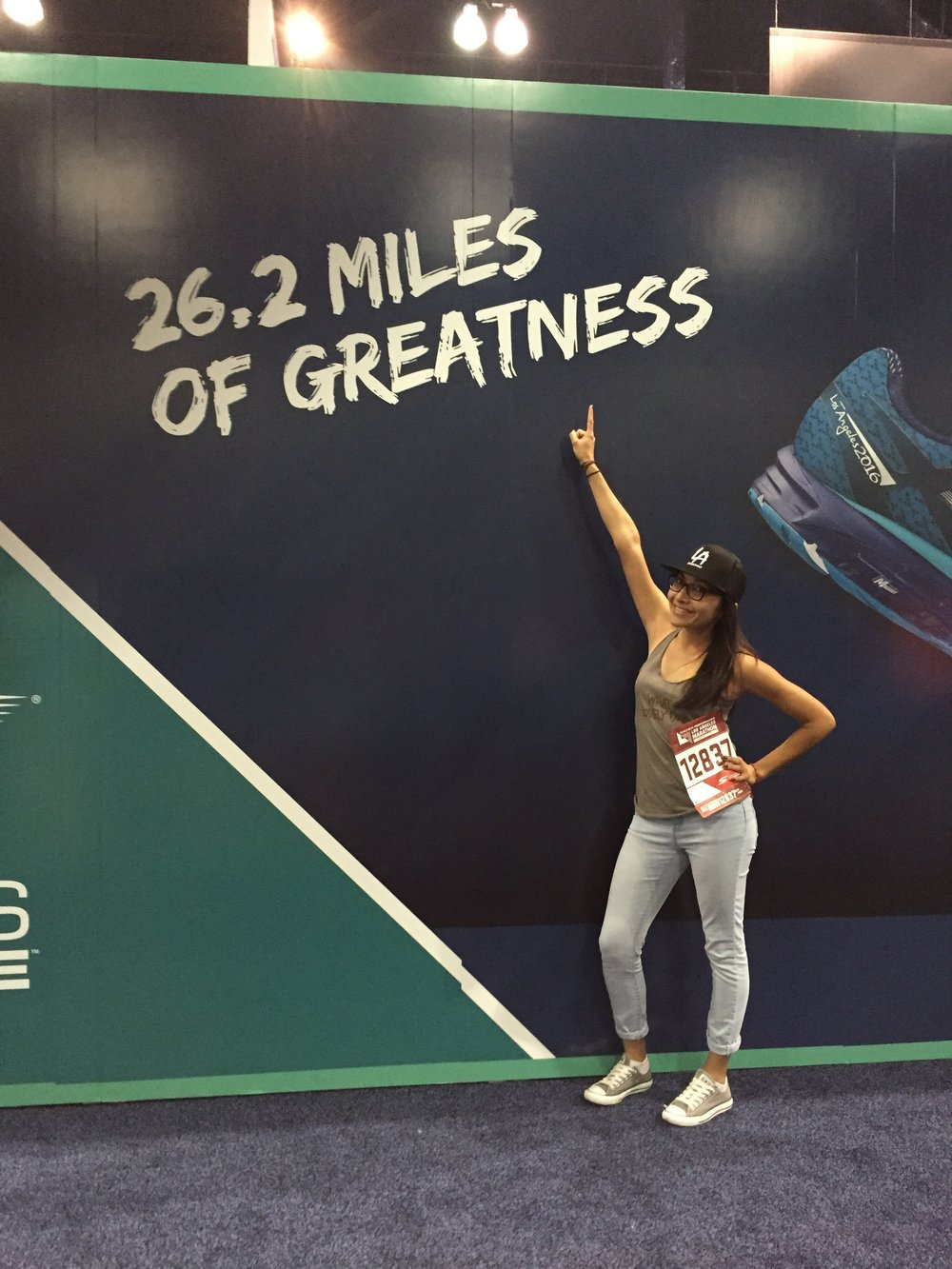 "- ""Running becomes a mental challenge after a few miles, but once you cross that finish line, you feel invincible, powerful, and fearless. I hope everyone that runs with me feels that same way because it is an amazing feeling.""-Itzel Magana"