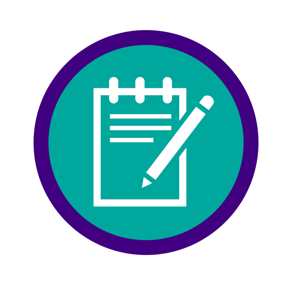 Notepad Icon for Law School Personal Statement