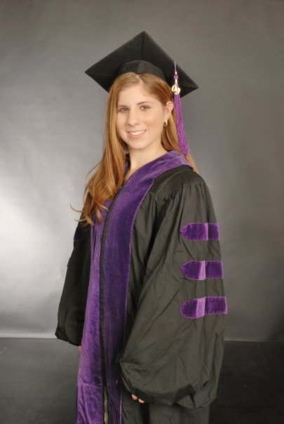 Hannah Hammersmith in Graduation Outfit for Graduated from UCLA School of Law