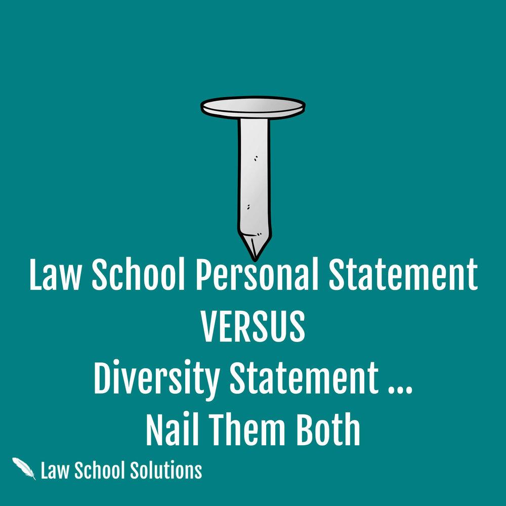 law-school-personal-statement-versus-diversity-statement