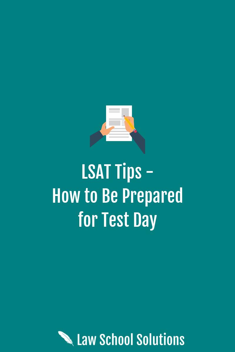 LSAT Tips
