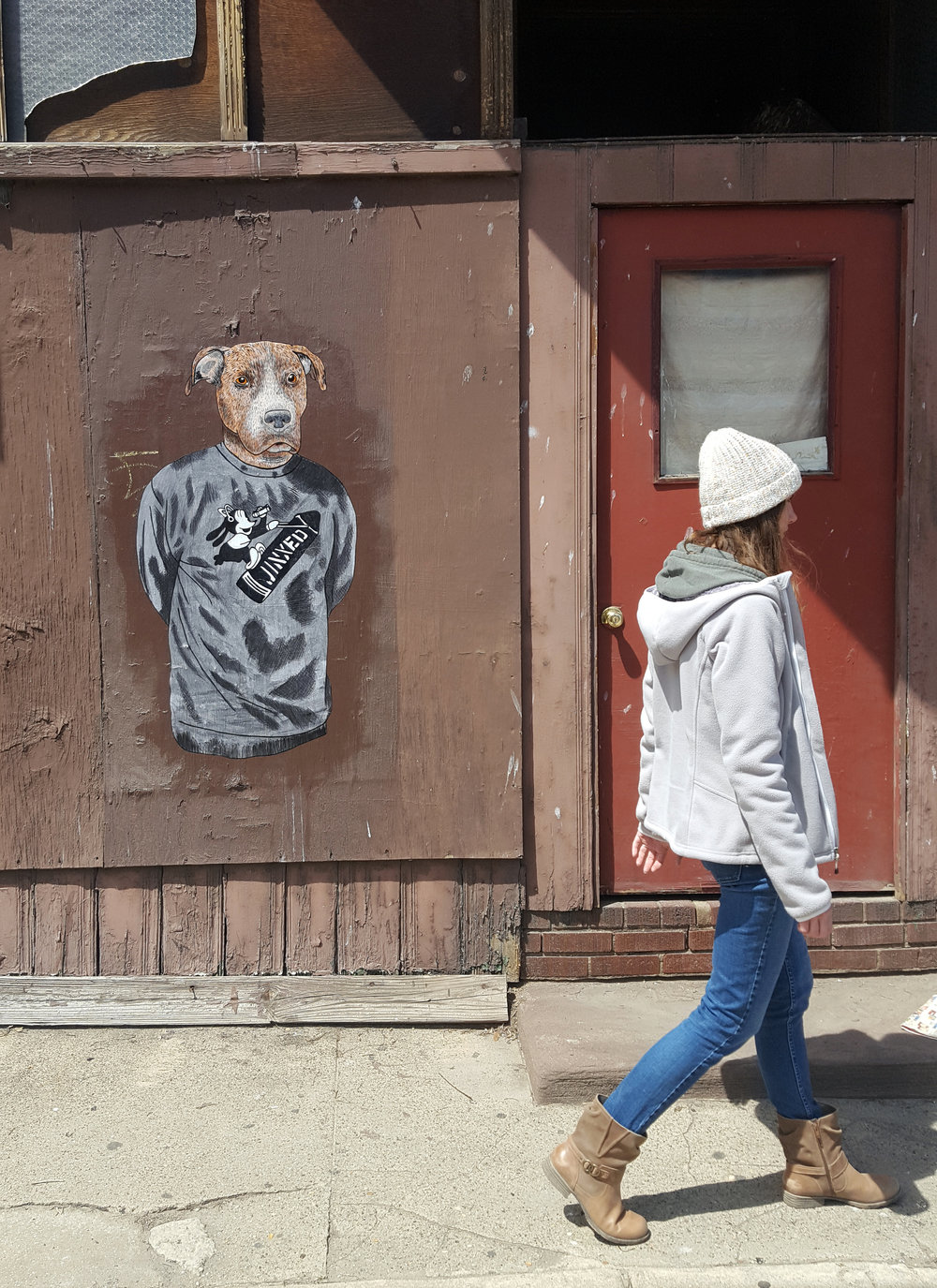 Mike in Port Richmond. 2018
