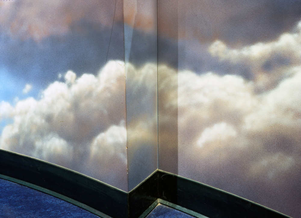 Low Clouds , 2009 Archival pigment print 40 x 55 inches   ————