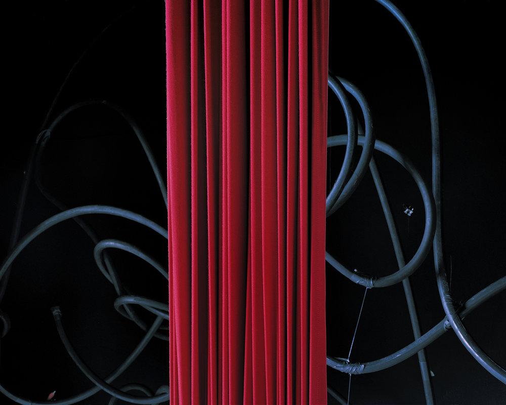 Hose Show , 2012 Archival pigment print 32 x 40 inches   ————