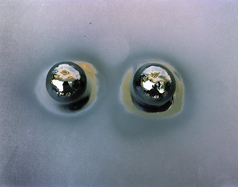 Silver Oranges , 2012 Archival pigment print 32 x 40 inches   ————