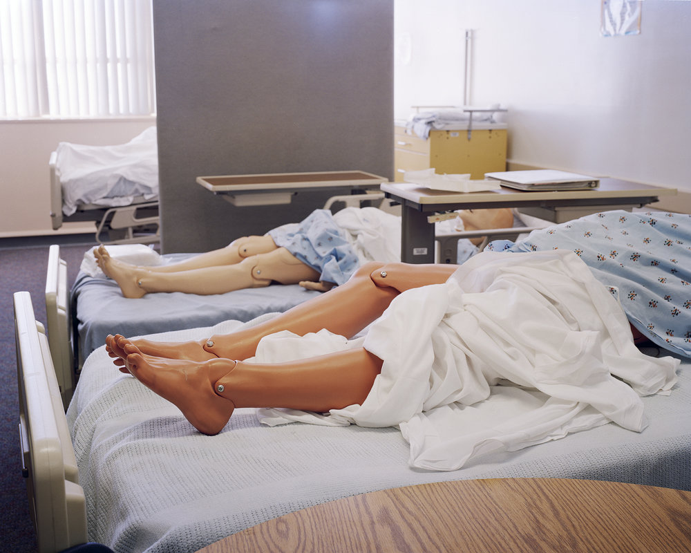 Bed Legs , 2008 Archival pigment print 20 x 25 inches      ————