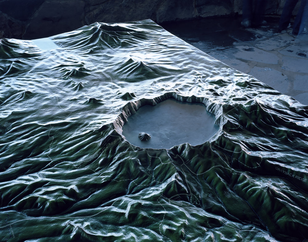 Crater , 2010 Archival pigment print 40 x 50 inches   ————