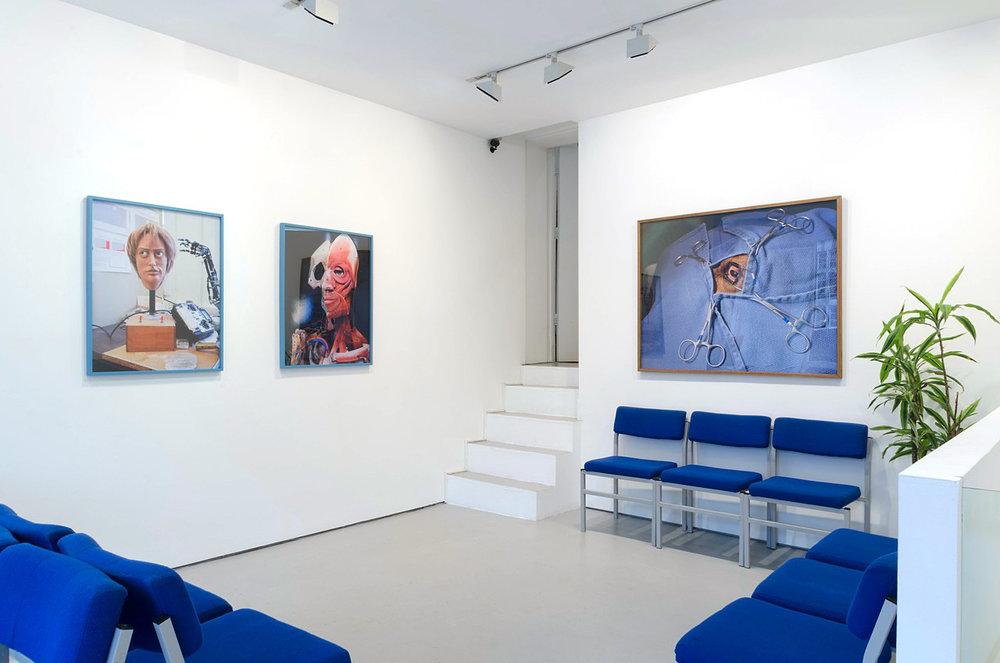 Installation View  Body Work , Josh Lilley Gallery, London   2009   ————
