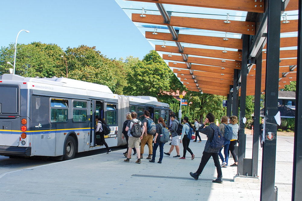 Principle 7: Promote a high efficiency and low impact transportation network - Manage increased demands on the transportation network, prioritizing walking, cycling and transit, reducing reliance on the car.