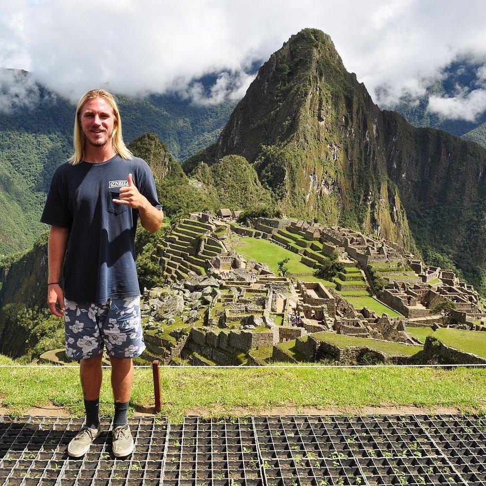Jared - Macchu Piccu, Peru 2018