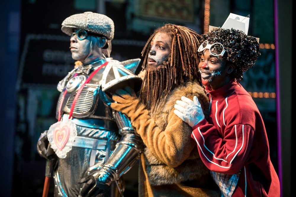 Dennis Spears Rudolph Searles and Dwight Leslie in The Wiz photo by Dan Norman.jpg