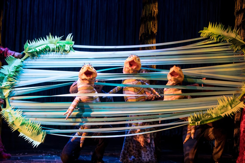 Fish puppets in Dr. Seuss's the Lorax photo by Dan Norman.jpg