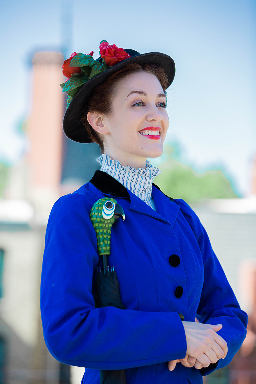 Becca Hart as Mary Poppins. Credit: Devon Cox