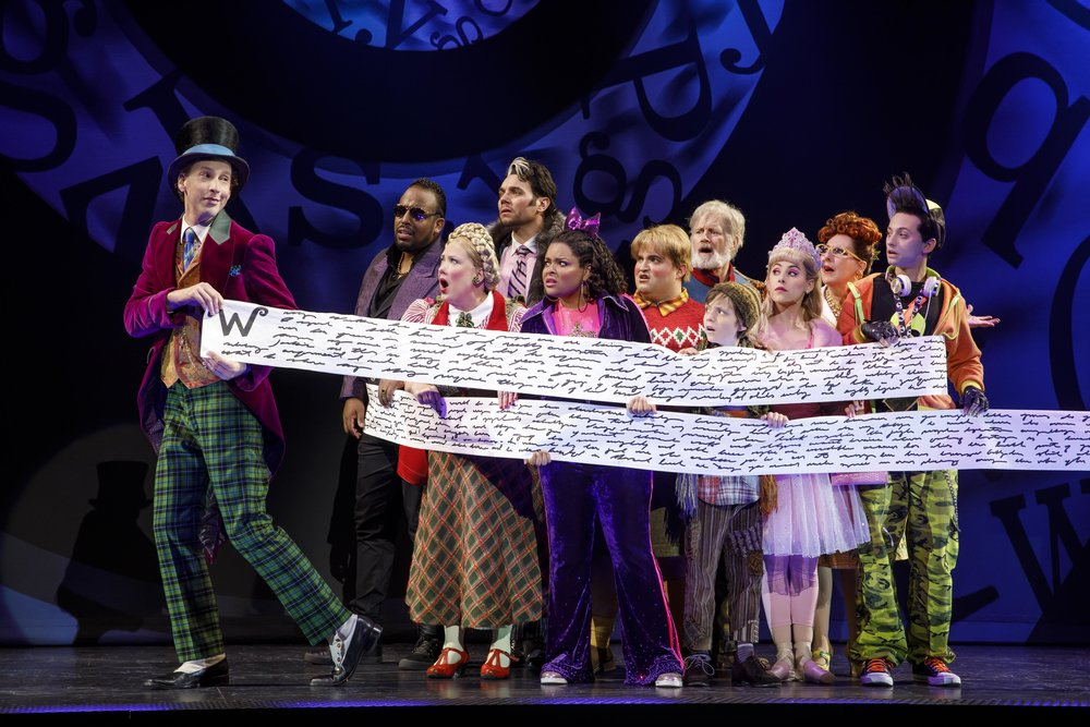 The cast of Roald Dahl's CHARLIE AND THE CHOCOLATE FACTORY. Photo by Joan Marcus.jpg